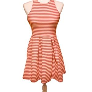 SO Racerback Pink Striped Dress NWT